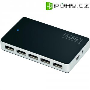 USB hub 2.0, 10-port, Digitus