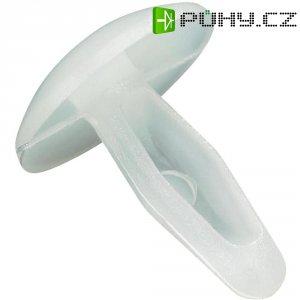 Rozpínací nýt PB Fastener 254-0001-000, Ø otvoru 4.8 mm, PA, černá, 1 ks