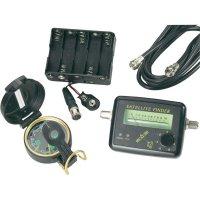 Sada vyhledávače satelitního signálu, analogový