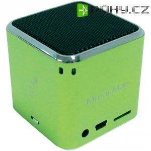 Mobilní mini sound stanice Technaxx MusicMan ®, zelená