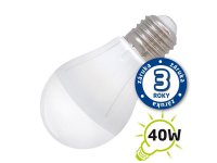 Žárovka LED A55 E27 5W bílá teplá (Pc)