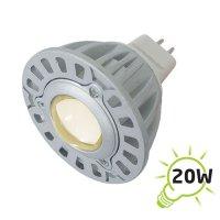 Žárovka LED MR16/12VAC (1x) - 3W(B) bílá teplá