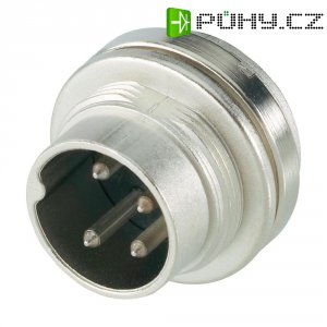 Přístrojová zástrčka Amphenol T 3262 000, 3pól., 3 - 6 mm, IP40