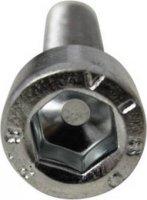 Šroub s válcovou hlavou Toolcraft, M3, 10 mm, vnitřní šestihran, černá