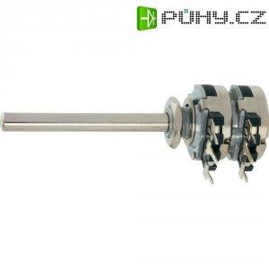 Stereo potenciometr Piher, T16TH-M04N102A2020MTA, 1 kΩ, 0,2 W , ± 20 %