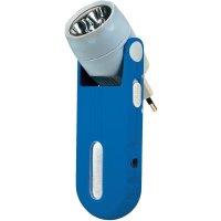 Akumulátorový ruční LED reflektor Ampercell Standby 02887, modrá/šedá
