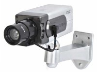 Atrapa kamery IR CCD, vnitřní otočná s pohybovým čidlem