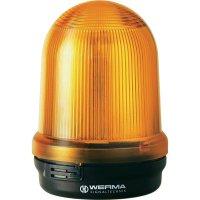 LED maják Werma Signaltechnik 829.390.55, IP65, žlutá