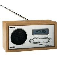 DAB+ stolní rádio Imperial DABMAN 30, DAB+, FM, dřevo