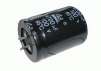 Kondenzátor elektrolytický 470M/350V 35x45-10 105*C rad.C SNAP-IN