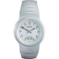 Ručičkové náramkové DCF hodinky Eurochron EFAU 2403, hliníkový pásek