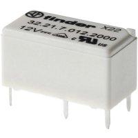 Miniaturní Print relé, série 32 Finder 32.21.7.012.2000, 6 A, 400 V/AC (AC1) 1500 VA