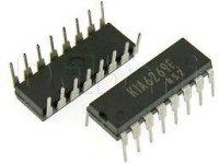 KIA6269P - nf zesilovač 2x1W, DIP16
