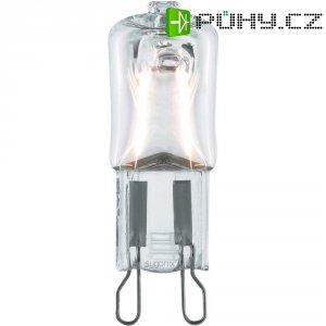 Halogenová žárovka Sygonix, G9, 28 W, 50 mm, stmívatelná, teplá bílá, 2 ks