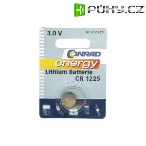 Knoflíková baterie Conrad energy CR1225, lithium