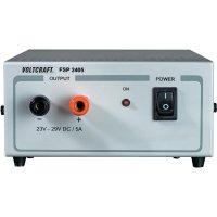 Spínaný síťový zdroj VOLTCRAFT FSP 2405, 24 - 29 V/DC, 145 W, 5 A