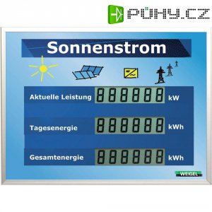 LCD displej pro fotovoltaické systémy Weigel WGA350si-19-42