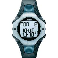 Sportovní hodinky s měřením pulzu Beurer PM 26, 675.30, modrá/šedá/černá