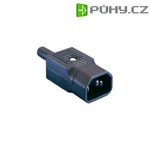 Síťová IEC zástrčka C14 Eska Bulgin, 250 V, 10 A, PX0686