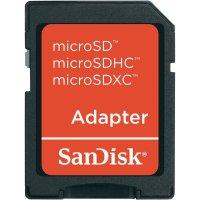 Pamětová karta microSDHC SanDisk Ultra 16GB, Class 10, SD adaptér