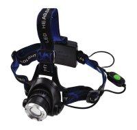 Čelová LED svítilna, XML-T6 Cree (USA), 500lm, 3x AA WH16