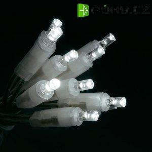 Vánoční mini retěz Konstsmide, 50 LED studená bílá