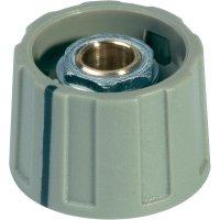 Otočný knoflík s ukazatelem (Ø 23 mm) OKW, 6 mm, šedá