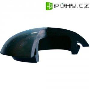 Záslepka Richco LTP-1, 32 mm x 12,7 mm, černá
