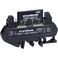 DC polovodičové relé na DIN lištu Crydom DRA1-CMX60D10, 8 A