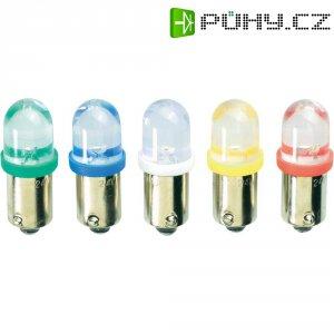 LED žárovka Barthelme 59091211 BA9s červená 12 V/DC, 12 V/AC