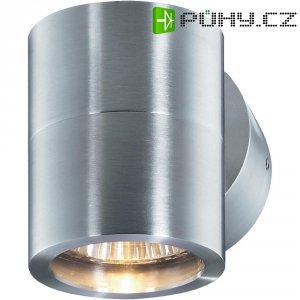 Nástěnné svítidlo do koupelny Sygonix Cuneo, 34097S, 35 W, GU10, stříbrná/šedá