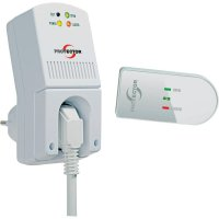 Bezdrátové ovládání odvodu vzduchu Protector AS 5020, 1300 W, bílá
