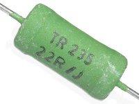 470R TR235, rezistor 4W metaloxid