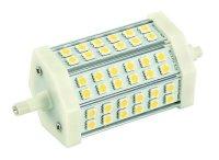 Žárovka LED R7s/230V 8W 118mm 36led bílá teplá