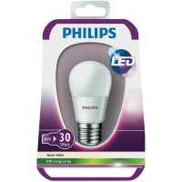 LED žárovka Philips E27, 4 W, teplá bílá