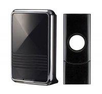 Zvonek domovní bezdrátový 1L07 80m černý