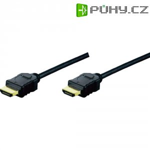Kabel HDMI vidlice ⇔ vidlice, 2 m, Digitus