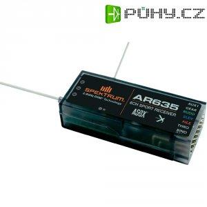Přijímač Spektrum AR635 DSM X AS3X, 2,4 GHz, 6 kanálů, JR