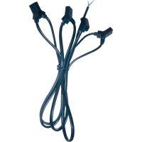 Přívodní kabel k ventilátoru, pro 4 ventilátory
