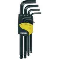 Sada imbusových klíčů s kulovou hlavou Proxxon Micromot 23946, 1,5 - 10 mm, 9 ks