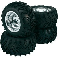 Monstertruck kolo Reely Retro,1:10, 12 mm 6-hran, chrom, 4ks (50816C)