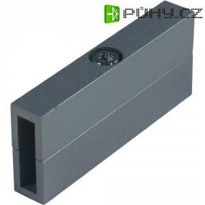 Izolační spojka pro kolejnicový systém SLV Linux Light, 138232, stříbrná/šedá