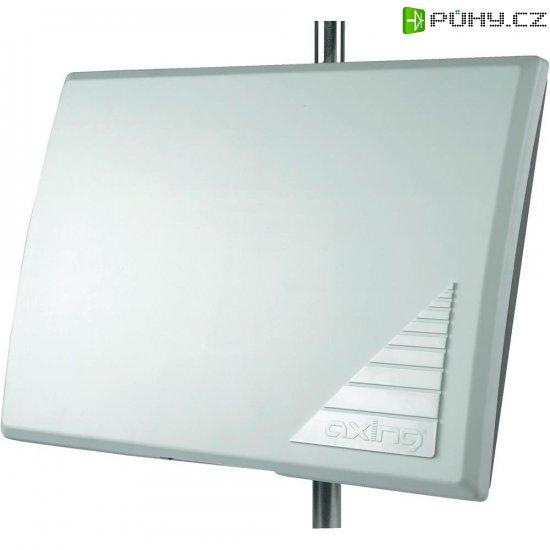 Vnější/vnitřní anténa, Axing TAA 3, DVB-T/DAB/DAB+/FM, 30 dB, bílá - Kliknutím na obrázek zavřete