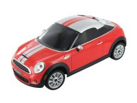 Bluetooth autíčko na dálkové ovládání BeeWi Mini Cooper S Coupé, pro iOS, Android, WP8, červené