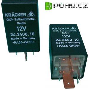 Automobilové relé Kräcker 24.3400.10, 12 V, 40 A, spínací časové relé osvětlení