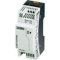 Zdroj na DIN lištu Phoenix Contact STEP-PS/1AC/12DC/1.5, 12 V/DC, 1,5 A