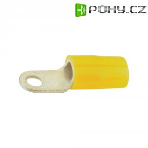 Izolované kabelové oko Vogt Verbindungstechnik 3653A, 4 - 6 mm², Ø 4,3 mm, žlutá