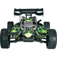 RC model buggy Reely by GS Racing GSC3010AENGBK Black Devil, Nitro, 1:8, 4WD, RtR