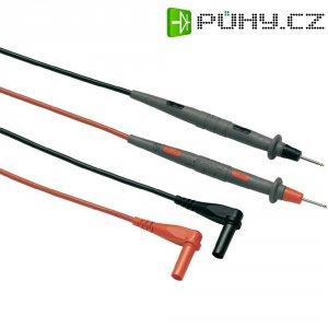 Sada měřicích kabelů banánek 4 mm ⇔ měřící hrot Fluke TL71-1, 1,5 m, černá/červená