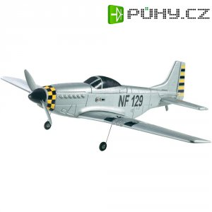 RC model letadla Reely P-51 Mustang, 870 mm, RtF, 2,4 GHz